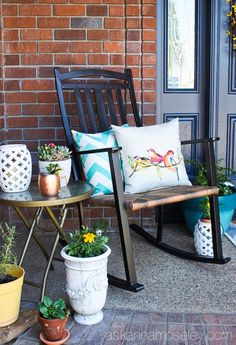 How to Decorate a Spring Front Porch with Better Homes and Gardens