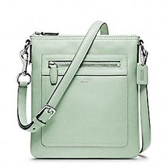 Gifts Under $200 for Women at Coach.com ~ Legacy Swing Pack ~ I can't decide between Bright Coral or Mint...