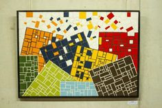 Mosaic - ceramic tiles Mosaic Projects, Mosaic Ideas, Tiles, Ceramics, Abstract, House, Mosaics, Bass, Wall Tiles