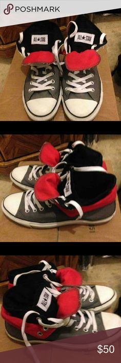 Mens converse size 8.5 Mens converse size 8.5 worn handful of times but still in great condition. Converse Shoes Sneakers