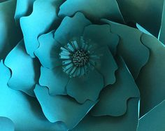 Paper Flower Template, Hard Copy Template, Flower Template, DIY giant paper flower