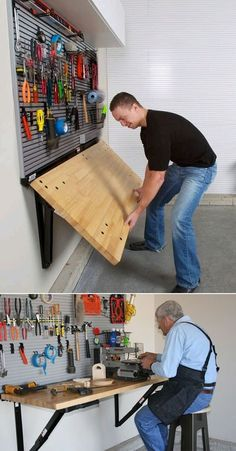 Top Storage Ideas For The Garage- CLICK THE IMAGE for Various Garage Storage Ideas. #garage #garageorganization
