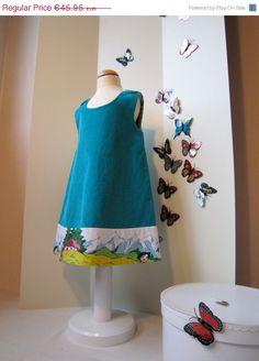 "monbisou corduroy dress ""Heidi"". €32,17, via Etsy."