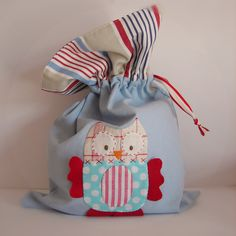 Roxy Creations: Large drawstring bag