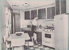 1960 Frontier Horizon Slanted Kitchen