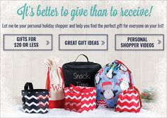 It's better to give than to receive! Our personal holiday shoppers can help you find the perfect gift for everyone on your list
