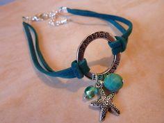 """""""Hope"""" charm ring bracelet"""