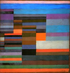 Fire in the Evening by Paul Klee (1929)