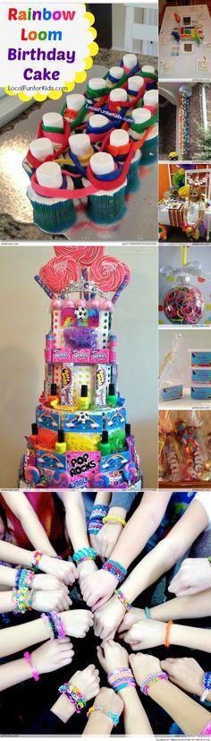 Rainbow Loom Birthday Party Ideas