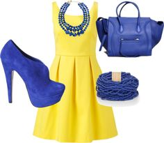 """Yellow Mellow"" by hersquire on Polyvore"