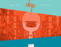 "Check out new work on my @Behance portfolio: ""Diip Studio web design"" http://be.net/gallery/32293957/Diip-Studio-web-design"
