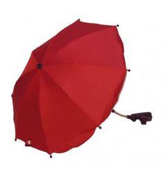 Parasolka do wózka z filtrem UV Kees czerwony