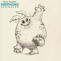 https://flic.kr/p/nZoiGQ | It's all about balance... #morningscribbles