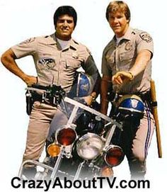 Chips t. The california highway patrol. Eric Estrada and Larry Wilcox 70s Tv Shows, Old Shows, Movies And Tv Shows, Larry Wilcox, Mejores Series Tv, Cinema Tv, Tv Show Casting, Kino Film, Vintage Tv