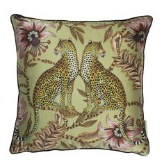 "Satin Polyester Cushion Covers 2 stunning designs 18/""x18/"" 4 Colours,LAST FEW"