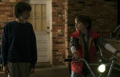 Mike and Will - Stranger Things