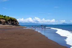 The Black Sand Beaches of Albay | Visit Legazpi!