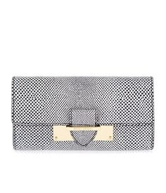 Whitney Lizard Buckle Wallet | New Arrivals | Henri Bendel