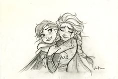 New Frozen 2 art with Elsa and Anna final look, and other main characters of the movie Disney Fan Art, Disney Concept Art, Disney Style, Frozen Art, Frozen Film, Disney Frozen, Disney E Dreamworks, Disney Pixar, Disney Movies