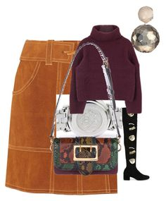 """""""Autumn"""" by naomi-s1234 on Polyvore featuring Anna Sui, Chiara Ferragni, Ippolita and Burberry"""