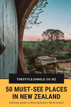 This list of 50 incredible places on the North Island of New Zealand will inspire you to explore more of New Zealand! There is so much to see and do. Cool Places To Visit, Places To Travel, Travel Destinations, Travel Tips, Food Travel, Air Travel, Travel Goals, Travel Essentials, Travel Guides
