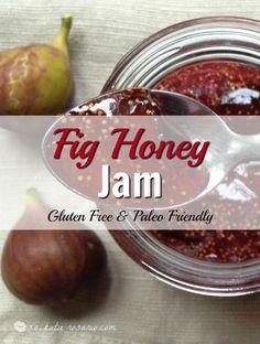 paleo fig jam Fig Recipes, Clean Recipes, Paleo Recipes, Paleo Food, Black Mission Fig, Fig Preserves Recipe, Fig Season, Canned Peaches, Rosario