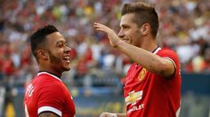 Morgan Schneiderlin scored five minutes into his debut as Manchester United beat Club America in the International Champions Cup. Sky Sports Football, Memphis Depay, International Champions Cup, Latest Football News, Club America, Thing 1, Manchester United, Scores, Premier League