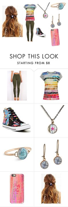 """What??? unique"" by pinkleopardchick ❤ liked on Polyvore featuring Paul Smith, Converse, Chart Metal Works, Casetify and Urban Outfitters"