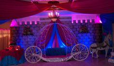 Princess carriage stage setup