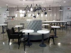 Google NYC Spider Lounge.