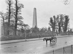 years gone by. Old Photos, Vintage Photos, Irish Independence, Dublin Street, Old Irish, Photo Engraving, Dublin Ireland, Historical Photos, Park
