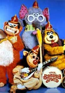 the banana splits - OMG, we use to watch these guys every Saturday night when I was little... very happy flash back...