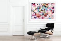 Contemporary wall Art - Extra Large Wall Art Original Art Bright Abstract Original Painting On Canvas Extra Large Artwork Contemporary Art Modern Home Decor Large Abstract Wall Art, Large Artwork, Extra Large Wall Art, Abstract Paintings, Canvas Paintings, Canvas Art, Portrait Paintings, Canvas Ideas, Diy Canvas