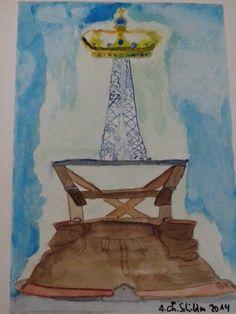 'Tag der Lederhose' von Alexander Christian  Schilder bei artflakes.com als Poster oder Kunstdruck $20.91