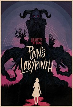 Pan's Labyrinth by Matthew Griffin, via Behance