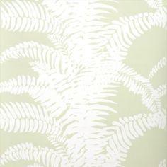 Meg Braff Wallpaper white on snowpea