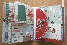 Snowflake Crate Paper Album_9 Crate Paper, Let It Snow, Mini Albums, Crates, Snowflakes, Stampin Up, Projects, Ink, Paper