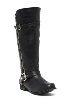 Steve Madden Lizbeth Moto Boot by Steve Madden on @nordstrom_rack