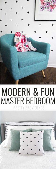 Modern & Fun Master Bedroom ideas