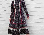 Gunne Sax Dress - ALWAYS wanted, but I was to chubby to fit into it!  :(
