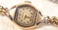 December 1939 Benrus 17 Jewels Windup Wristwatch Ladies Running Condition