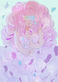 rose quartz and steven universe image