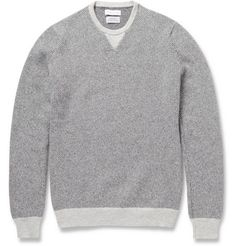 e00a30a15252 Richard James Knitted Cashmere Crew Neck Sweater   MR PORTER Sweater  Cardigan, Men Sweater,