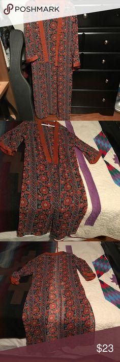 Kimono/duster Beautiful print Kimono. New longer style Xhilaration Other