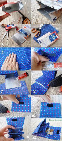 DIY Milk Carton Wallet