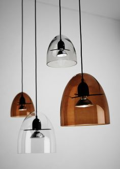 Centra and Minicentra suspension #lamps. #lighting #luminarias