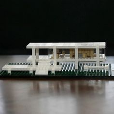 The latest addition to LEGO Architecture series is the stunning Farnsworth House built in 1951 by Ludwig Mies van der Rohe for Dr. Edith Farnsworth. The house, which has endured floods and other ravages of time, is now a historically protected landmark by the National Trust for Historic Preservation.
