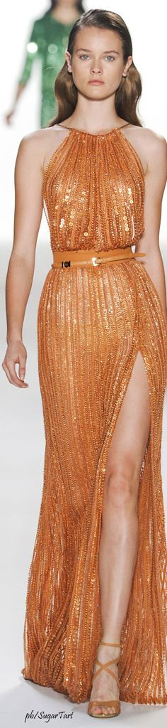 Clear gold looks like this. The darkest yellow in the Bright Spring palette looks like the darker coloured sequins in this dress.