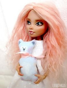 OOAK Howleen Wolf Fully customized Monster High by UnnieDolls