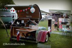 Retro Teardrop Trailer Caravan,   Wow i so want this......